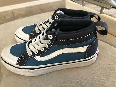 038d8dbe36 VANS WARD HI Kids High-Top Youth Boys Size 12 Sneakers Shoes New ...