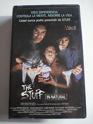 The Stuff (In Natural) • Vhs