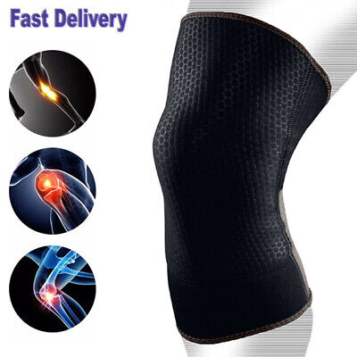 Breathable  Elastic compression Knee Support Guard  Arthritis Sport pain relief