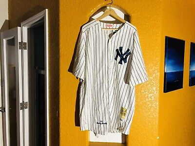 brand new 655ed 34037 MITCHELL NESS YANKEES Mickey Mantle Mens 54 Jersey 1951 Golden Anniversary.  NEW