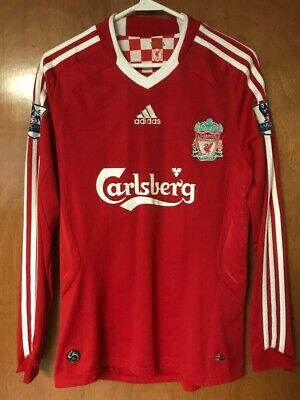 Adidas FC Liverpool 2008 2010 Home  9 Torres Size Small Soccer Jersey  Football 5c78a7bde