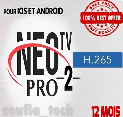 Neotv Pro 2 H.265 And | Smart Tv | Box & Receivers | 12 Months Official