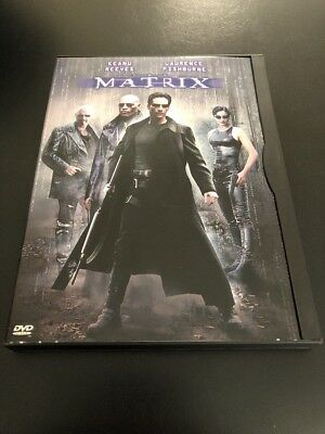 Matrix - (DVD-1999) Keanu Reeves- Laurence Fishburne
