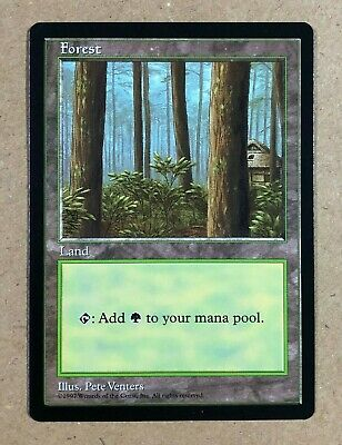 MTG 1x FULL ART FOREST Unglued *NM*