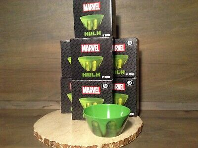 "LOT OF 2 Marvel The Incredible Hulk 6/"" Bowl New June 2017 Loot Crate Exclusive"