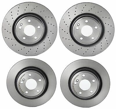 Brembo Front Brake Kit Ceramic Pad Rotors For QX30 MB W246 C117 X156 Sport Pkg