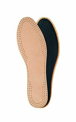 Natural leather insoles for ladies with activated carbon underlayer, inserts,...