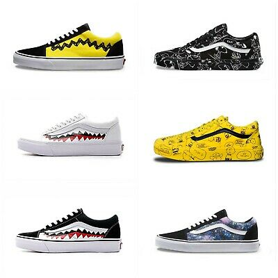 Vans Old Skool Shoes Us Sizes - Free Postage - Rare Patterns
