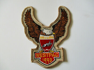 1990 USN US Navy Intruder WESTPAC VA-52 Cruise Fighter Pilot Squadron Patch