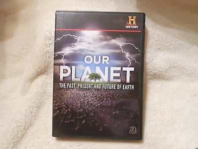 Our Planet: The Past, Present and Future of Earth (DVD, 2011, 3-Disc) *GEM MINT