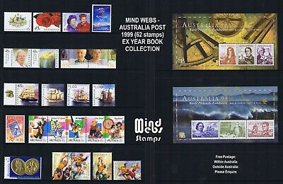 Australian Post Year Collection 1999 (58 stamps) MNH **ALBUM ME AT THIS PRICE!**