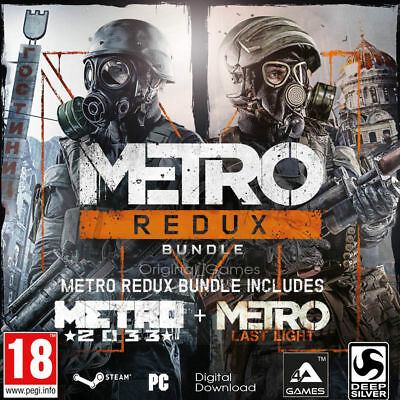 Metro Redux Bundle (PC, 2014, Nur der Steam Key Download Code) Keine DVD, No CD