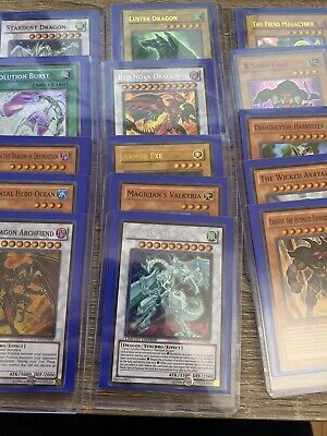 YUGIOH 15 Card Holographic Foil Collection Lot! Super, Ultra, Secrets! All Holos