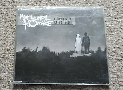 My Chemical Romance I Don't Love You CD EMO