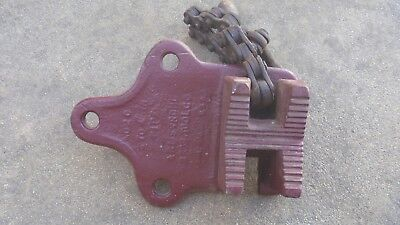 Vintage Pipe Vice Armstrong No. 2 Bros Tool Co Chicago