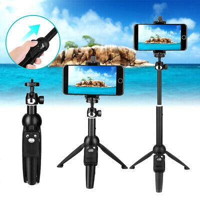 Selfie Stick Kit Extendable Phone Tripod with Wireless Remote Shutter Adjustable