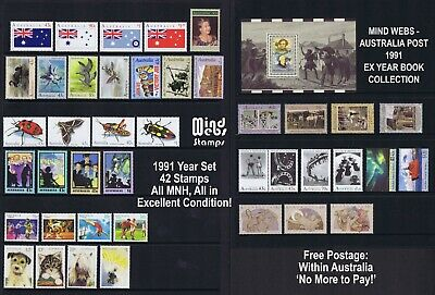 Australia Post Year Collection 1991 (41 Australian stamps) MNH