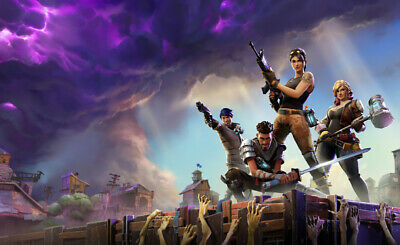 Fortnite Game Wall Poster Photograph Photo Art Prints WallPaper Size A3 A2 A1