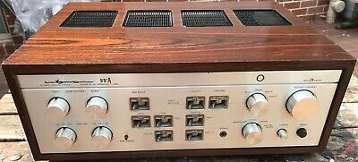 SUPERB VINTAGE LUXMAN DUO BETA DC STEREO AMPLIFIER model L55A. 80W X 2 - 8 ohms