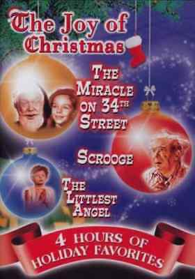 The Joy of Christmas: The Littlest Angel / The Miracle on 34th Street NEW DVD