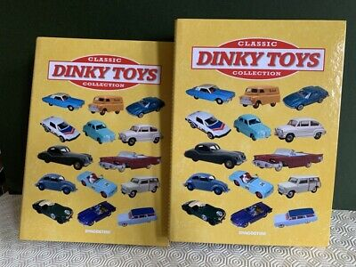 De Agostini Dinky Toys Magazine collection numbers 1-30 in two binders.