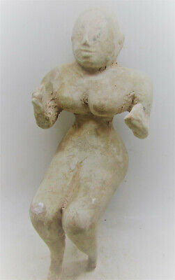 Large & Impressive Ancient Indus Valley Harappan Male Statuette Approx 20Cm