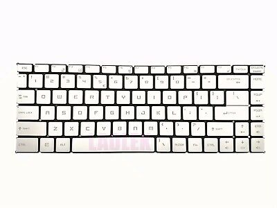 New US backlit Silver keyboard for MSI PS42 Modern 8RC/8RA/8MO PS42 8RB/PS42 8M