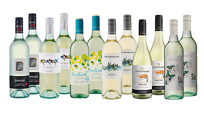 Mixed White Wine Summer Favorites Pack 12x750ml Fast & Free Delivery