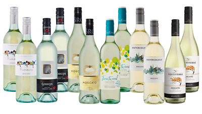 Mixed Summer Sweet Wine Seletion Pack 12 x7 50ml Fast & Free Delivery