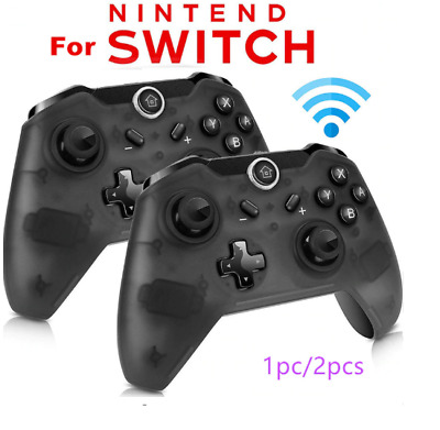 1pc/2pcs Bluetooth Wireless Pro Controller Gamepad Remote For Nintendo Switch