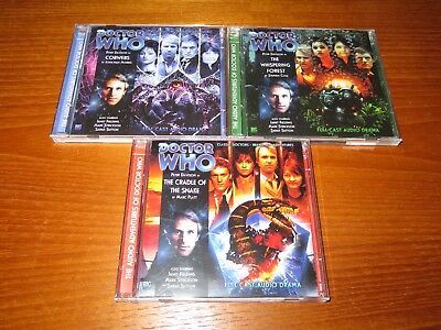 Doctor Who Big Finish 5th Doctor Tegan, Nyssa and Turlough Series