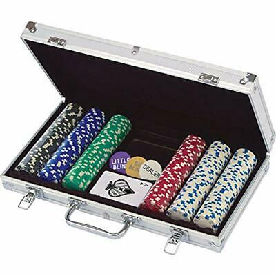 """300 Ct. Poker Chips 11.5 Gram In Aluminum Case (styles Will Vary) Toys """" Games &"""