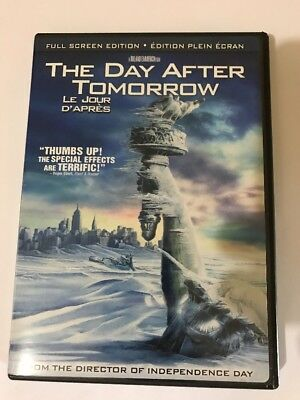 The Day After Tomorrow (DVD, 2005, Canadian Release Full Frame)