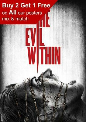 The Evil Within Game Poster A5 A4 A3 A2 A1