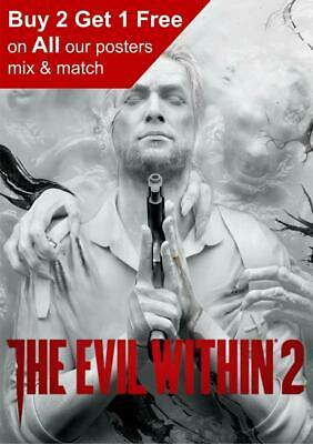The Evil Within 2 Game Poster A5 A4 A3 A2 A1