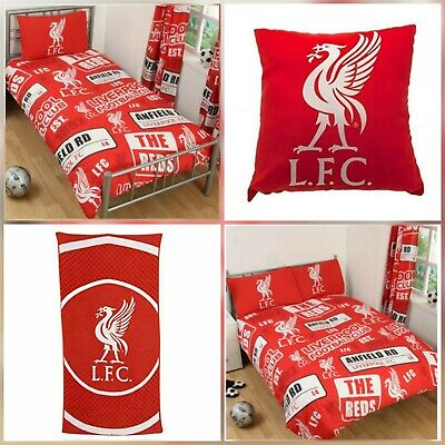 4 In 1 100% Lisenced Official Liverpool Fc Patch Team Logo Duvets/Towel/Cushions