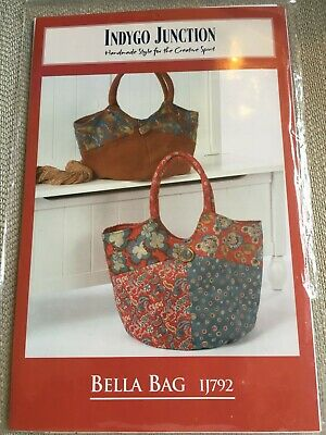 Bella Bag Sewing Pattern by Indygo Junction Quilting
