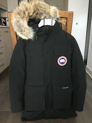 c0af2041e8b CANADA GOOSE MENS Expedition Parka Coat Military Green 4565M Size S ...