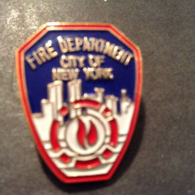 NEW Fire Department City of New York lapel Pin NEW