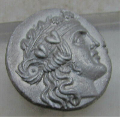 Coins: Ancient Coins & Paper Money Unresearched Ancient Greek Ar Silver Tetradrachm Coin Weight 16.64