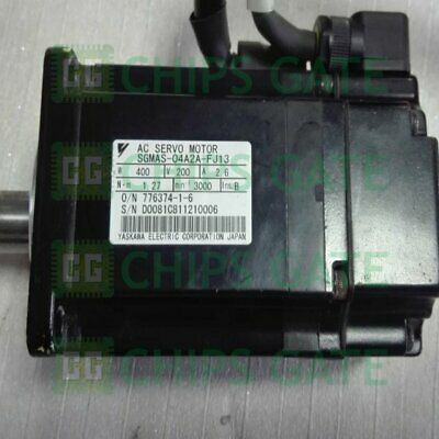 1PCS USED Yaskawa servo motor SGMAS-04A2A-FJ13 Tested in Good Condition