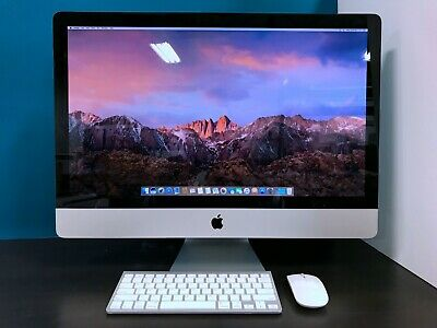 "ULTRA Apple 27"" iMac All-In-One / QUAD Core i5  / OS-2017 / HUGE 1TB SSD HYBRID"