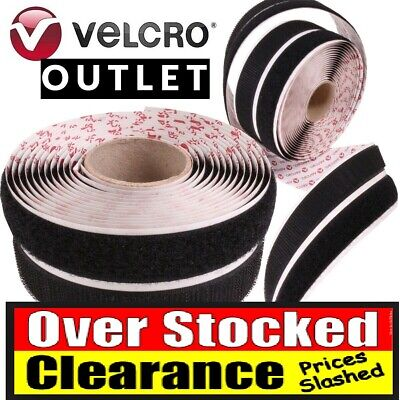 Velcro® Genuine Brand Ps14 Self Adhesive Stick On Tape Hook & Loop Strips