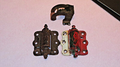 2 vintage Screen Door hinge Hinges Victorian ANTIQUE
