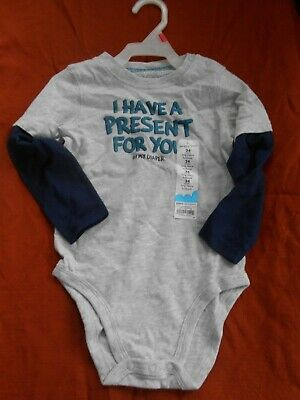 Jumping Beans 24 Month Long Sleeve Body Suit