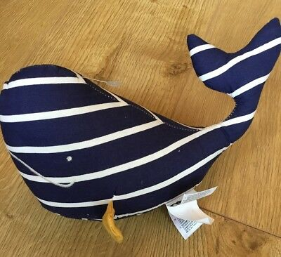 Mothercare Whale Bay Door Stop 🐳 Brand New 🐳