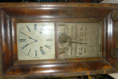 OLD/ANTIQUE probably 1930s  American clock for restoration