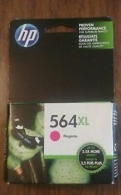 NEW HP #564XL Yellow Ink Cartridge New Generation  Genuine