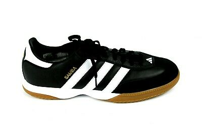Adidas Samba Millennium Indoor Soccer Shoes Black White 088559 Mens Size  12.5 US c7a429aef
