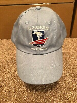 eb0a4c20612 US Open Pebble Beach 2019 USGA Member Blue Strapback Golf Hat Cap